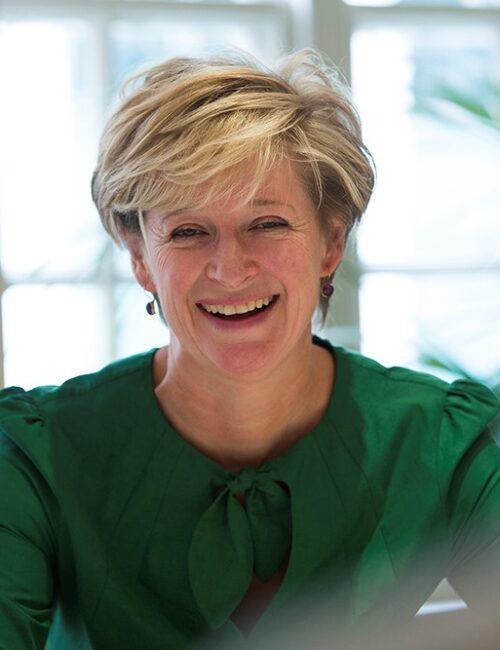 A photograph of Gordon Moody Trustee Claire Arnold